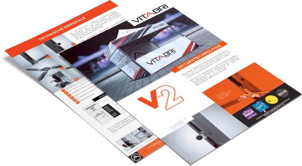 Produktblatt der V2-Reihe