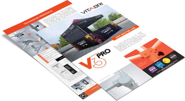 Produktblatt der V3-Reihe