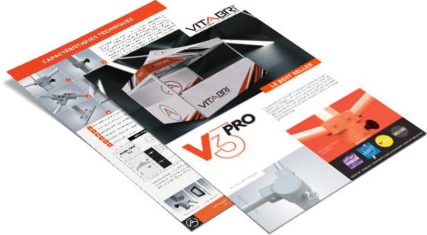 fiche produit de la gamme V3 PRO